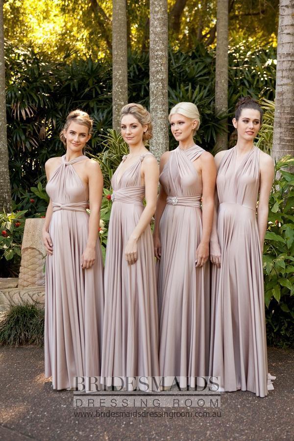 Goddess By Nature Ballgown Length Multi way dress