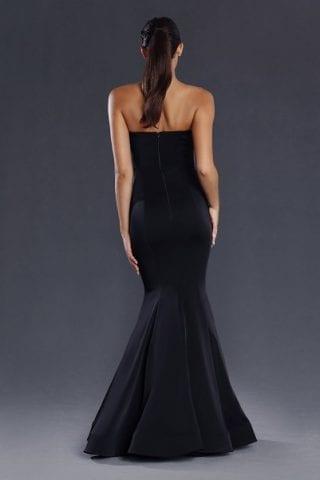 Bridesmaids_Jadore_JX009_Bridesmaid_Dresses_Melbourne_Black_Back