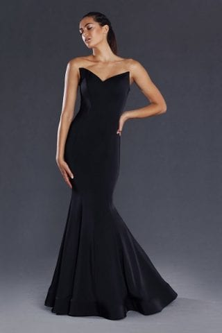 Bridesmaids_Jadore_JX009_Bridesmaid_Dresses_Melbourne_Black_Front