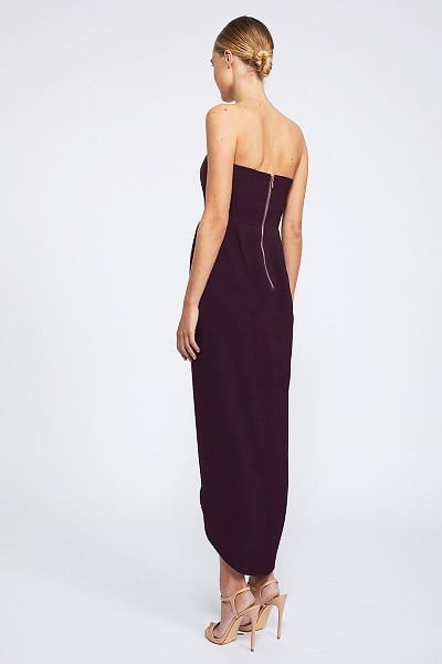 Bridesmaids_Shona_Joy_Core_SJ2149_U_Wire_Bustier_Dress_Bridesmaid_Dresses_Melbourne_Aubergine_Back