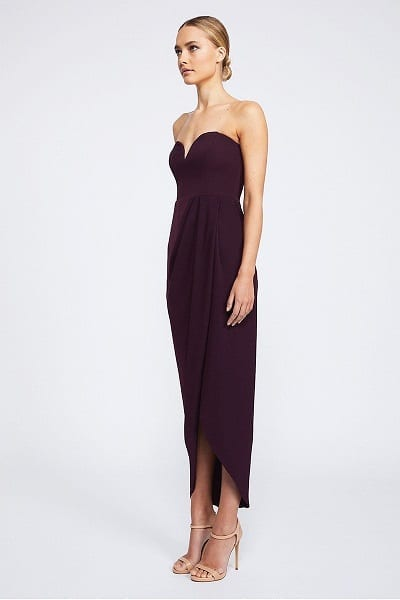 Bridesmaids_Shona_Joy_Core_SJ2149_U_Wire_Bustier_Dress_Bridesmaid_Dresses_Melbourne_Aubergine_Side