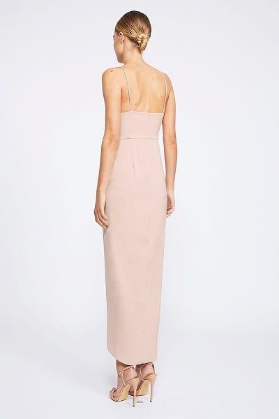Bridesmaids_Shona_Joy_Core_SJ2549_Cocktail_Draped_Dress_Bridesmaid_Dresses_Melbourne_Ballet_Back