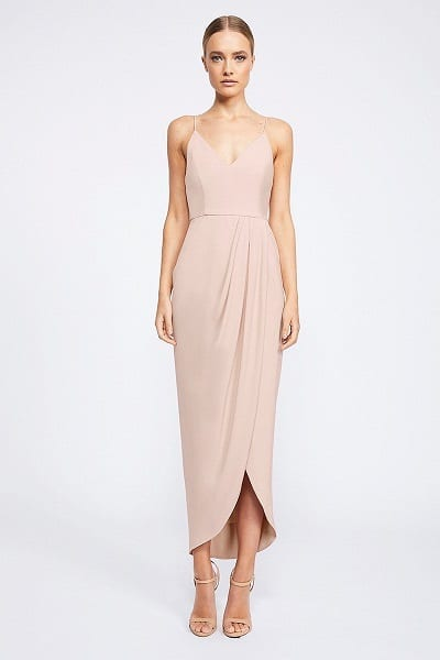 Shona Joy CORE Collection - Cocktail Draped Dress SJ2549