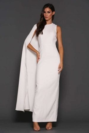 Elle Zeitoune Billini Dress White