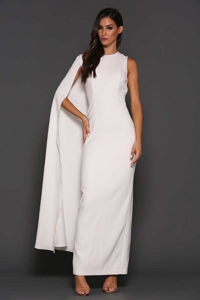 Elle Zeitoune Billini Dress White