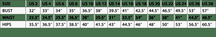 size-chart-affair