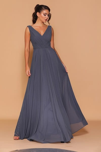 Les_Demoiselle_LD1111_Bridesmaid_Dresses_Melbourne_Bridesmaids_Dressing_Room_Steel_Front