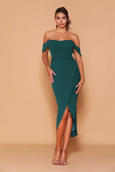 Les_Demoiselle_LD1119_Bridesmaid_Dresses_Melbourne_Bridesmaids_Dressing_Room_Emerald_Front