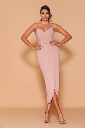 Les_Demoiselle_LD1126_Bridesmaid_Dresses_Melbourne_Bridesmaids_Dressing_Room_Latte_Front