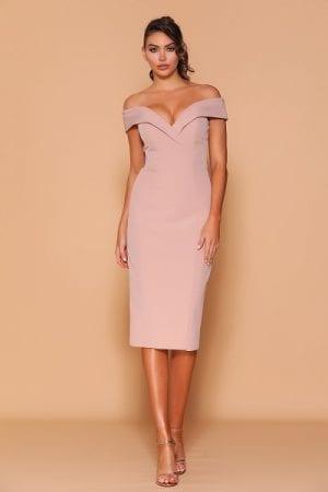 Les_Demoiselle_LD1130_Bridesmaid_Dresses_Melbourne_Bridesmaids_Dressing_Room_Latte_Front