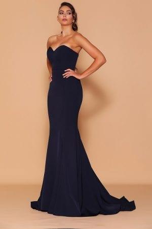 Les_Demoiselle_LD1134_Bridesmaid_Dresses_Melbourne_Bridesmaids_Dressing_Room_Navy_Front