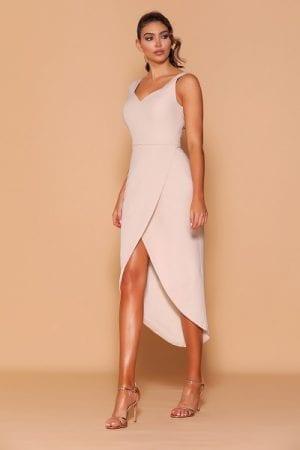 Les_Demoiselle_LD1136_Bridesmaid_Dresses_Melbourne_Bridesmaids_Dressing_Room_Nude_Front