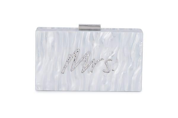 Mrs_Glitter_Clutch_Evening_Handbag_Melbourne_Australia_Bridesmaids_Olga_Berg_Silver_OB8226_SILV